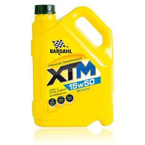 HUILE MOTEUR Huile 15w50 Minérale XTM - 5 L - BARDAHL