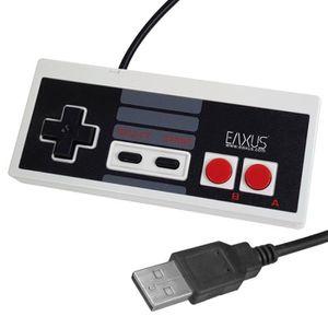 JOYSTICK JEUX VIDÉO Mgs33 , Manette ,contrôleur USB Retro en NES Class