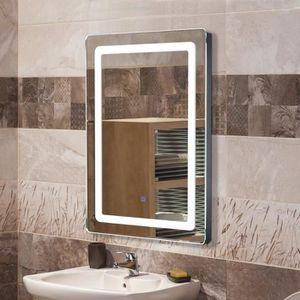 MIROIR SALLE DE BAIN Miroir lumineux LED de salle de bain 9 W dim. 50 x