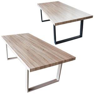TABLE À MANGER SEULE Table de salle à manger salon plateau MDF bois