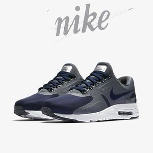 NIKE AIR MAX ZERO ESSENTIAL - 876070-009 - AGE - ADULTE, COULEUR - BLANC, GENRE - HOMME, TAILLE - 41