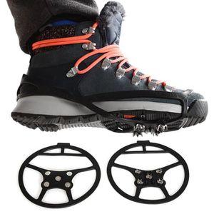 CRAMPON POUR GLACE Crampons Griffes pour Chaussure Anti-Glisse Neige