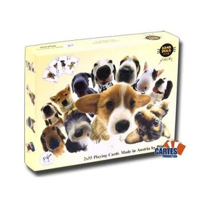 CARTES DE JEU Hanadeka Dogs -2 jeux de 52 cartes