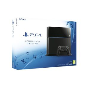 CONSOLE PS4 Console Playstation PS4 1 To - Ultimate Player Edi
