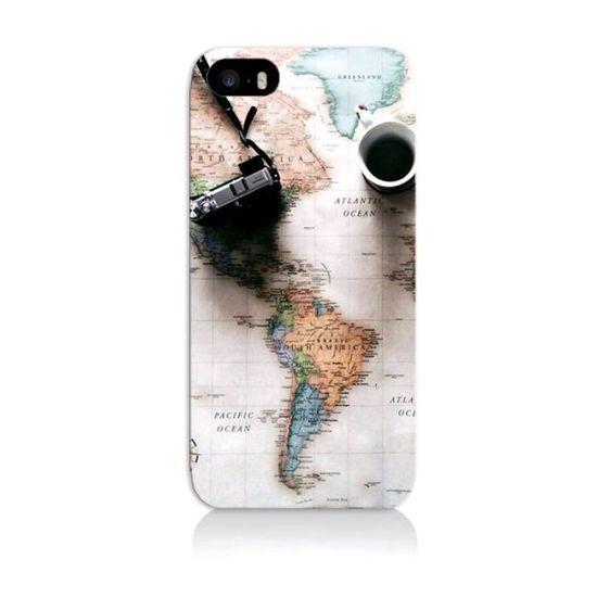 coque iphone 5 voyage carte