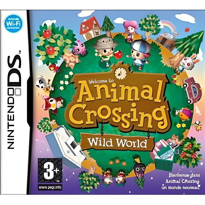 animal crossing wild world jeu ds achat vente jeu ds dsi animal crossing wild world. Black Bedroom Furniture Sets. Home Design Ideas