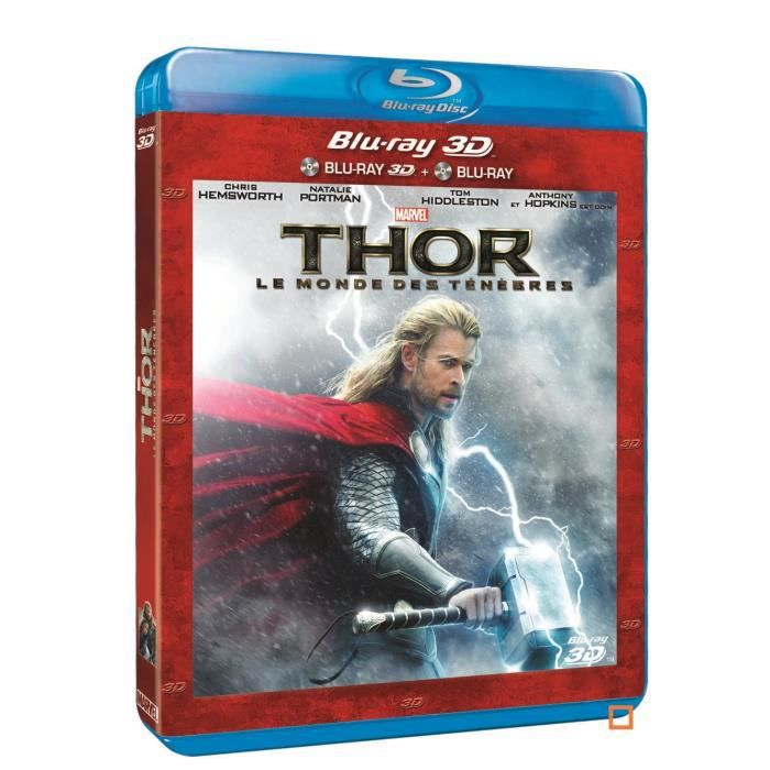 DVD FILM BLU-RAY 3D THOR THE DARK WORLD