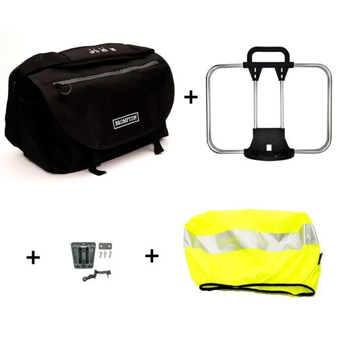 Panier vélo,ACEOFFIX pour Brompton S sac SBag panier sac pour vélo pliant Brompton légume sac cadre vélo - Type S bag 1set
