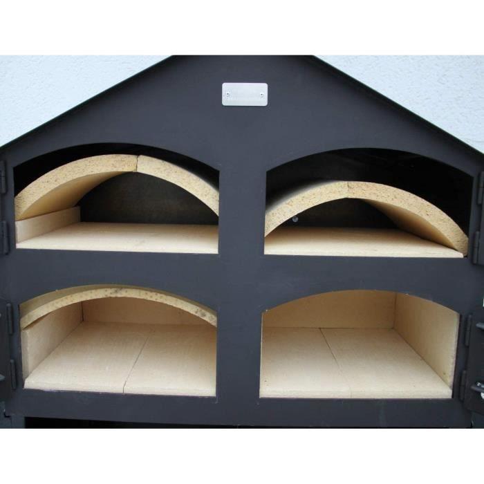 Fours à pizza extérieurs Top ramster bois Four Four à pain four à pizza avec équipement complet + accessoires 96115