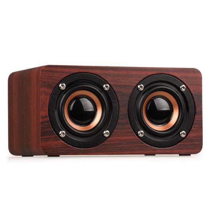 Haut-parleur Bluetooth, câble haut-parleur Bluetooth W5 Haut-parleur Bluetooth haut-parleurs portables