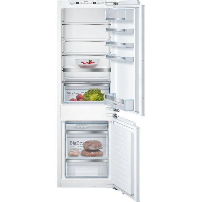 bosch - réfrigérateur combiné intégrable à pantographe 265l a++ - kis86afe0