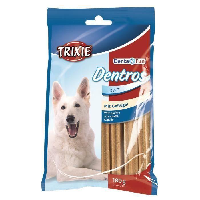 TRIXIE Dentros Denta Fun à la volaille - Pour chien - 21 x 180 g
