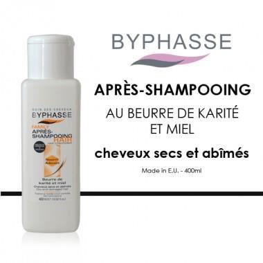 Byphasse - Après-shampooing au beurre de karité…