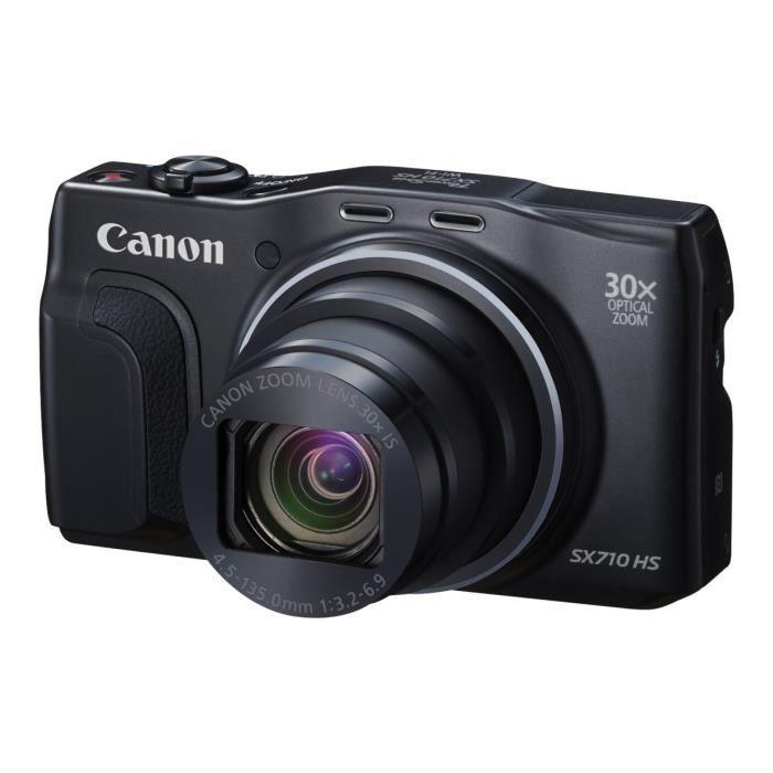 Canon PowerShot SX710 HS Appareil photo numérique compact 20.3 MP 30x zoom optique Wi-Fi, NFC noir