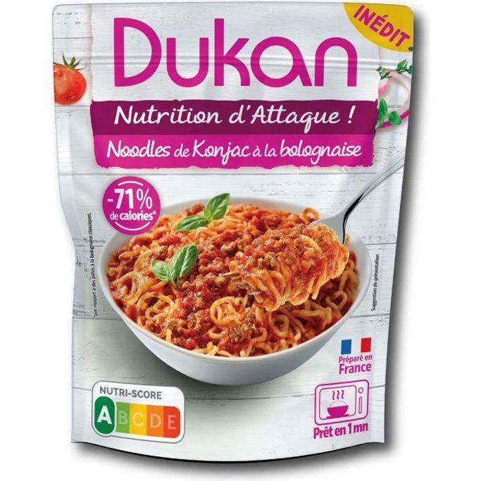 DUKAN Noodles de konajc à la bolognaise - 280 g