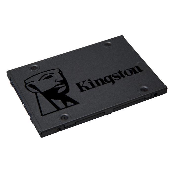 Kingston Technology A400 SSD 120GB, 120 Go, 2.5-, Série ATA III, 500 Mo-s, 6 Gbit-s