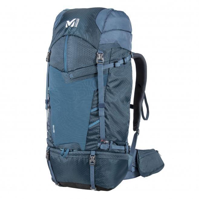 Millet UBIC 50+10 orion bleu, sac à dos grande randonnée et trek.