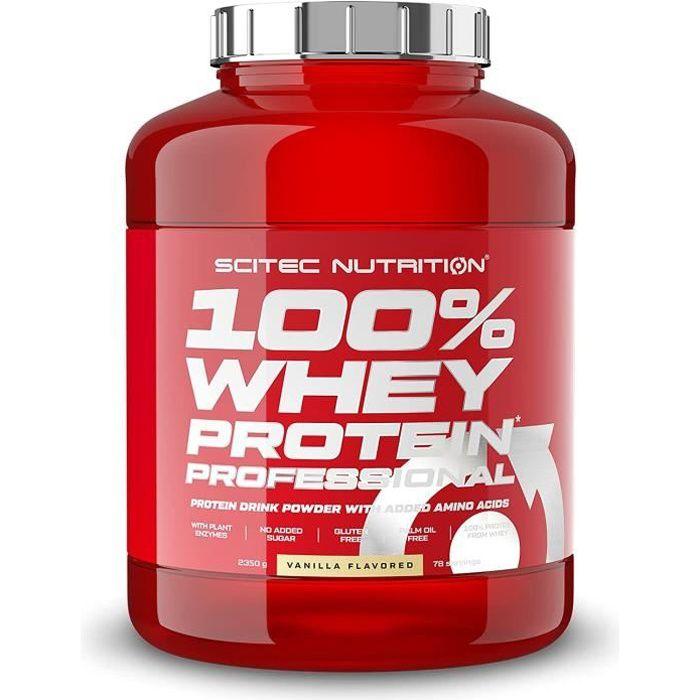 100% Whey Protéine Professional 2350g VANILLE PISTACHE Scitec