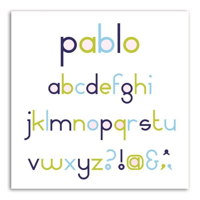 LES D'COS® DE TOGA Pack de 8 Dies Alphabet Pablo