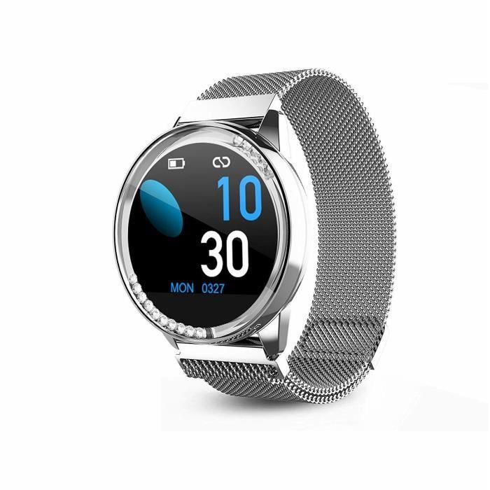 Montre intelligente All Alloy Smart Watch Pression artérielle Cardiaque Fréquence Cardiaque LT05 Surveillance du Sommeil en oxygène