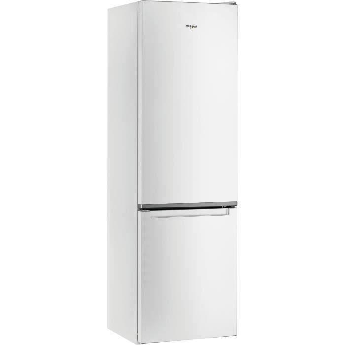 WHIRLPOOL - W7911IW - Réfrigérateur Combiné - 368 L (264 L+104 L)- Total NoFrost - A+ - L59,6cm x H201cm - Blanc