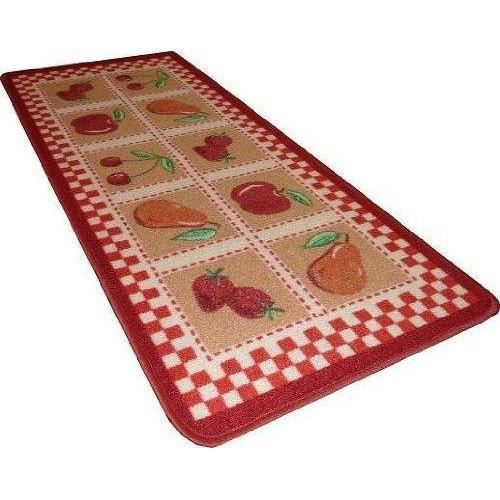 tapis cuisine 50x120cm model c13 rouge achat vente tapis de cuisine cdiscount. Black Bedroom Furniture Sets. Home Design Ideas