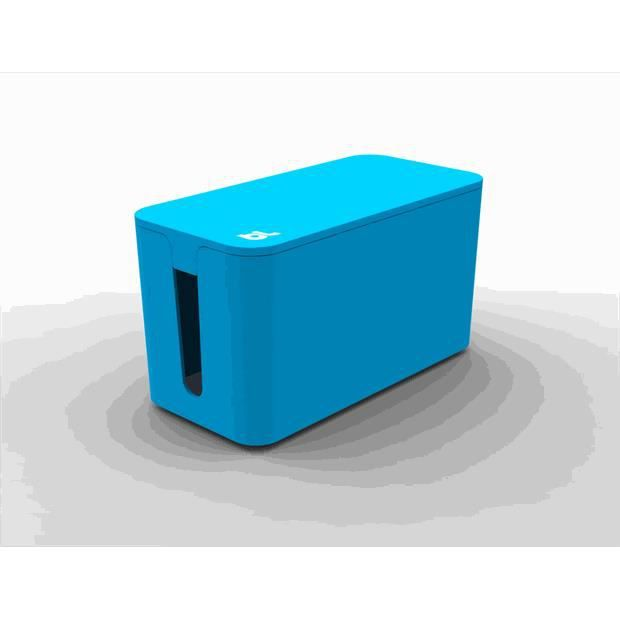 GOULOTTE - CACHE FIL Petite boite cache-câbles - bleu