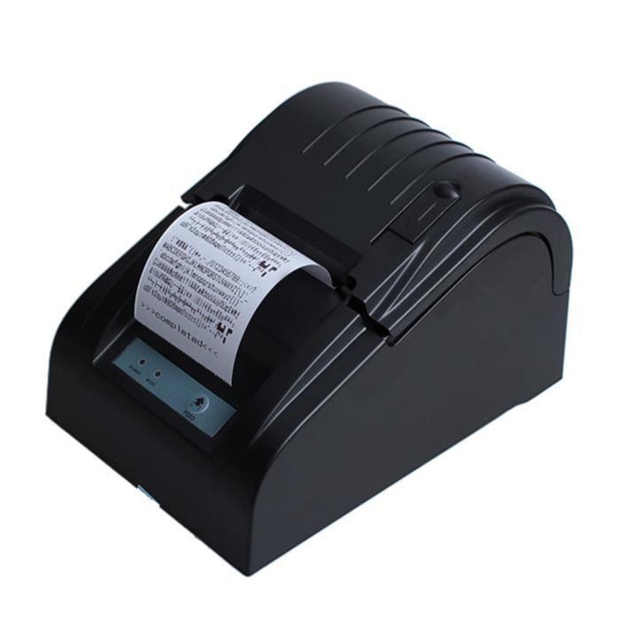 CARTOUCHE IMPRIMANTE Excelvan Noir Imprimante à reçu Thermique 58mm