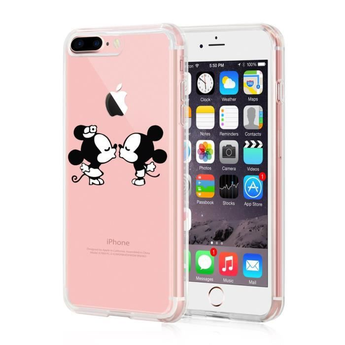 coque iphone 7 en silicone disney