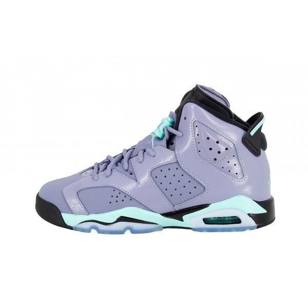 various styles super cute best choice Basket Nike Air Jordan 6 Retro (… Violet Violet - Achat / Vente ...