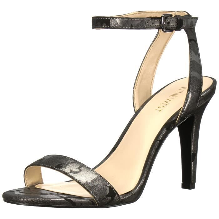 Nine West Femmes Angus synthétique Sandales à talons YA96N Taille-40