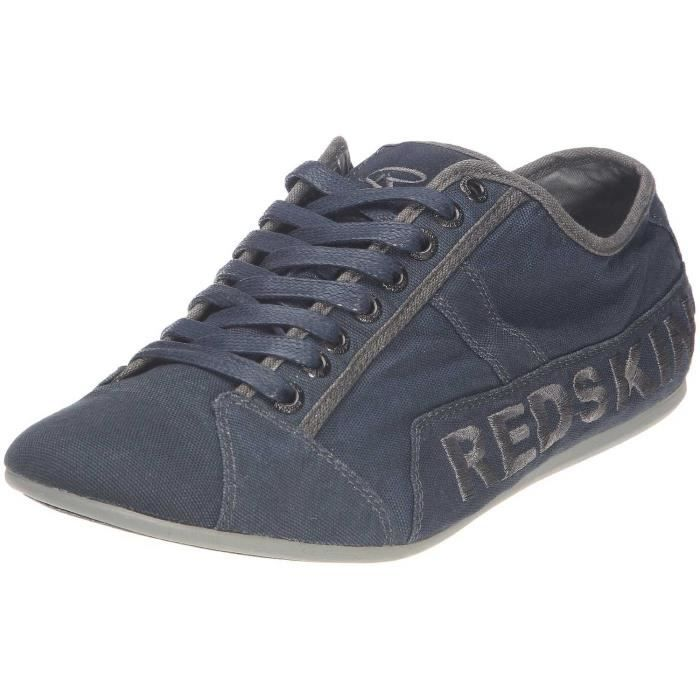 newest 972d4 d0a9f Redskins TEMPO Marine   Gun - Chaussures Baskets basses Homme GH8HUA1Z -  destrainspourtous.fr