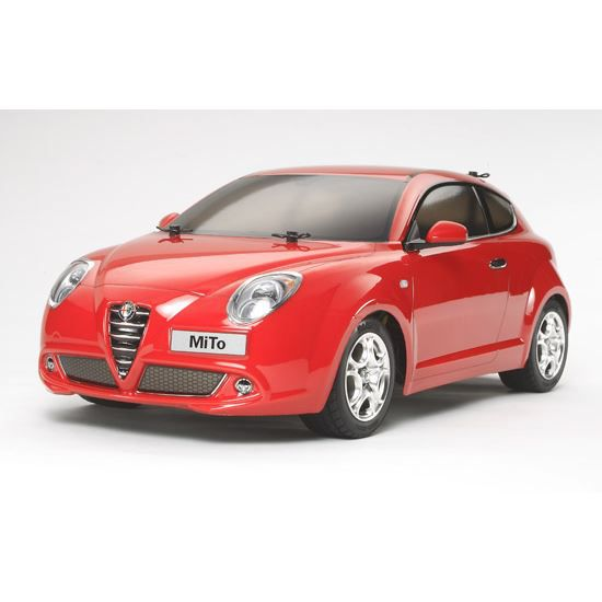 alfa romeo mito m05 tamiya 1 10 achat vente voiture construire cdiscount. Black Bedroom Furniture Sets. Home Design Ideas