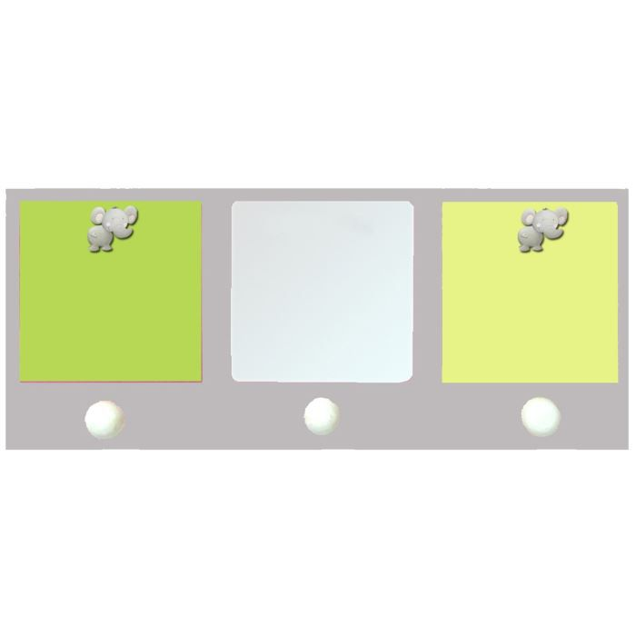 Miroir pat res porte photos 2 vues jungle titout achat for Miroir qui s accroche a la porte