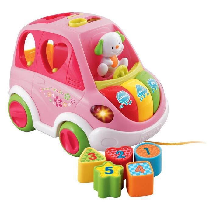vtech sort and learn voiture rose achat vente talkie walkie jouet soldes cdiscount. Black Bedroom Furniture Sets. Home Design Ideas