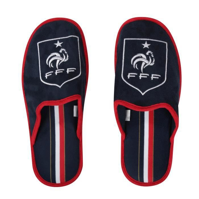 Chaussons FFF - Collection officielle Equipe de France de Football