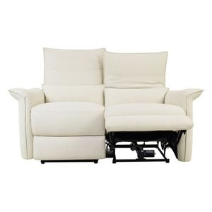 Canape 2 places relax achat vente canape 2 places for Canape avec meridienne amovible