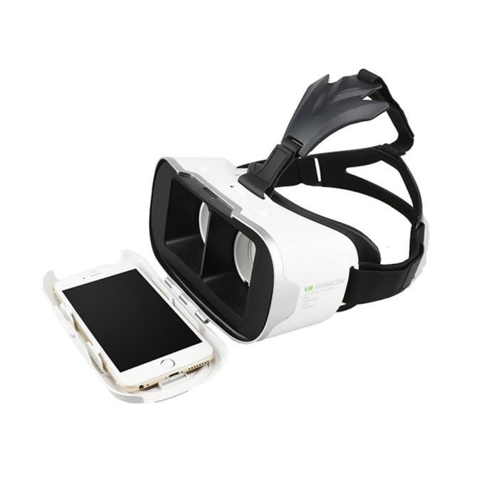 vr shinecon ii casque carton virtuel reality lunettes smartphonespaschers. Black Bedroom Furniture Sets. Home Design Ideas