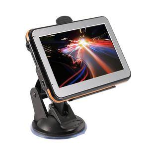 GPS AUTO Lecteur de navigateur GPS portable de 4,3 pouces a