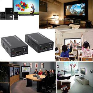 CÂBLE TV - VIDÉO - SON HDMI EXTENDER RJ45 Câble LAN Jusqu'à 200ft Kit 108