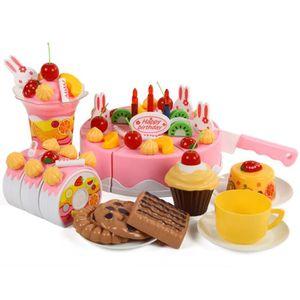 DINETTE - CUISINE 75 pièces Dinette à découper gâteau d'anniversaire