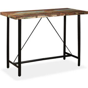 MANGE-DEBOUT Table haute mange debout bar bistrot bois massif d