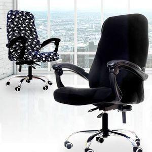 CHAISE DE BUREAU SO0R Siège d'ordinateur populaire chaise couvre bu