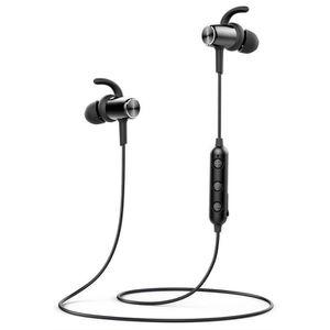 CASQUE - ÉCOUTEURS Écouteurs Bluetooth 4.1  Sans Fil Magnétique Stéré