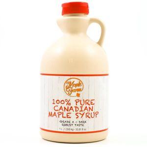 MIEL SIROP D'AGAVE Pur Sirop d'erable Grade A (Dark, Robust taste) -
