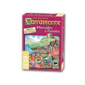 JEU SOCIÉTÉ - PLATEAU Carcassonne: Mercados Y Puentes