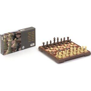 JEU SOCIÉTÉ - PLATEAU Combiné jeu d'échecs & jeu de dames magnétique
