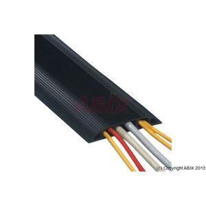 GOULOTTE - CACHE FIL Passage de - 10 câbles 1.5m noir