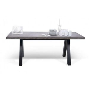 table a manger beton - achat / vente table a manger beton pas cher ... - Table Salle A Manger Beton Cire