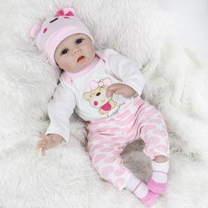 POUPÉE npkdoll 55cm soft silicone poupée renaît bébé 22 «